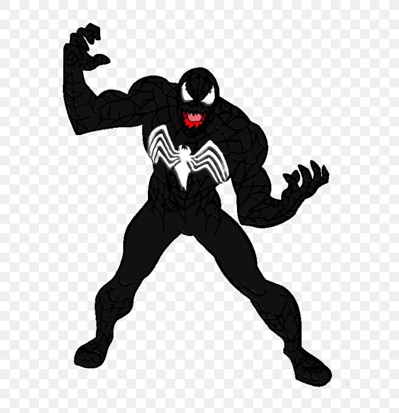 Venom Supervillain Comic Book Fan Art, PNG, 610x850px ...