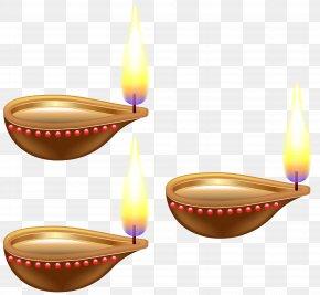 India Candles Transparent Clip Art Image - Diwali Clip Art PNG