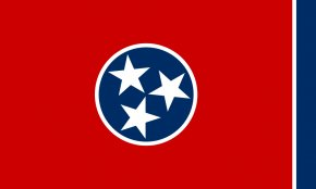 Flag Outline - Flag Of Tennessee Flag Of The United States PNG