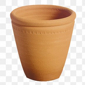 Flower Pot - Pottery Ceramic Vase Clay Crock PNG