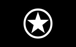 Black Star Logo - Chuck Taylor All-Stars Converse Desktop Wallpaper Shoe Clip Art PNG