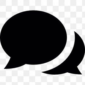 SPEECH BUBBLE - Online Chat Conversation LiveChat PNG