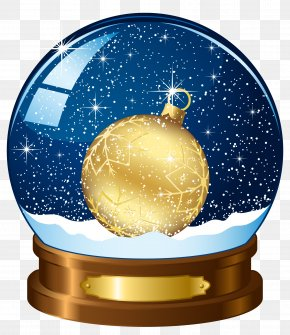 Free Christmas Crystal Ball To Pull The Material - Rudolph Christmas Tree Snow Globe Wallpaper PNG