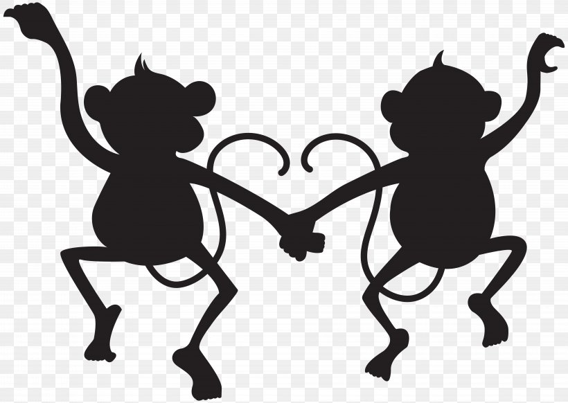 Silhouette Clip Art, PNG, 8000x5686px, Silhouette, Animal, Art, Black, Black And White Download Free