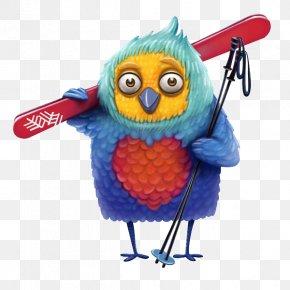 Owl - 2019 Winter Universiade Mascot Illustration PNG