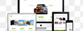 Responsive Design - Smartphone Responsive Web Design EBay Internet Template PNG