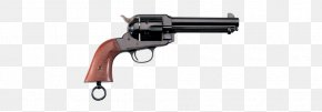 Single Action Revolvers - Trigger Revolver Firearm Weapon A. Uberti, Srl. PNG
