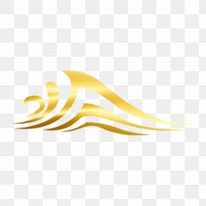 Golden Water - Gold Wallpaper PNG