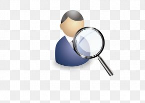 Vector Magnifying Glass Portrait - Petrozavodsk Ministry Of Internal Affairs Police Child Portrait PNG