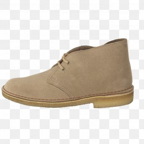 Desert Sand - Suede Boot Shoe Leather Textile PNG