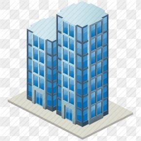 Vector Drawing Skyscraper - Skyscraper Building Real Estate Renting PNG