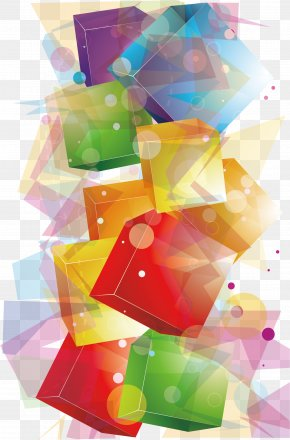 Dream Crystal Cube - Crystal Cubes Geometry PNG