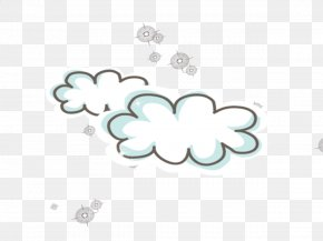 Cloud - Cartoon Cloud Computing PNG