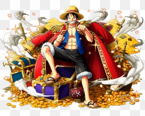 One Piece - Monkey D. Luffy One Piece Treasure Cruise Shanks Portgas D. Ace PNG