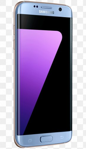 Samsung Galaxy Edge - Samsung GALAXY S7 Edge Color Android Telephone PNG