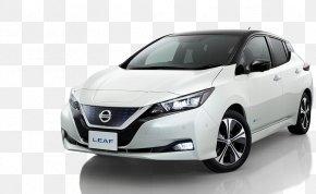 Nissan - 2018 Nissan LEAF Car 2017 Nissan LEAF Electric Vehicle PNG