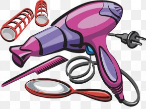 Hair - Hairdresser Clip Art Hair Clipper Barber Hairstyle PNG