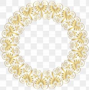 Gold Border Frame Clip Art - Image File Formats Raster Graphics Computer File PNG