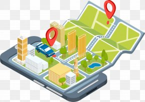 Smartphone Map - Mobile App Development Application Software GPS Navigation Software Android PNG