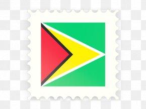 Guyana Flag - South America Las Banderas Postage Stamps Flag PNG