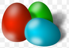 Easter Eggs Picture - Easter Bunny Red Easter Egg Clip Art PNG