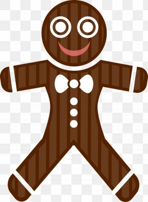 Gingerbread Man - Gingerbread House Candy Cane Christmas Pudding Clip Art PNG