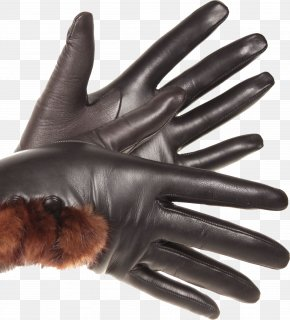 Leather Gloves Image - Glove Leather PhotoScape Clothing PNG