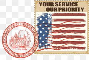 Allianz Life Insurance Company Of North America - Postage Stamps Riverside County Department Of Public Social Services County Of Riverside In-Home Supportive Services Flag Of The United States PNG