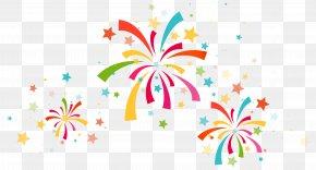 Confetti Decoration Clipart Image - Confetti Party Clip Art PNG