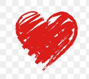 Chalk - Heart Love Desktop Wallpaper PNG