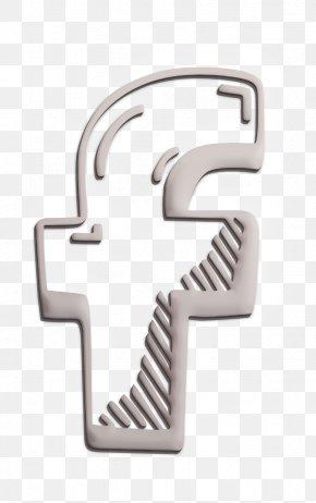 Metal Symbol - Facebook Icon Hand Drawn Icon Social Icon PNG