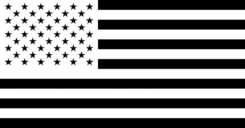 Flag Of The United States Black Clip Art, PNG, 1600x842px, United States, Banner, Black, Black And White, Brand Download Free