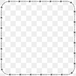 White Border Frame Transparent Background - Line Black And White Point Angle PNG