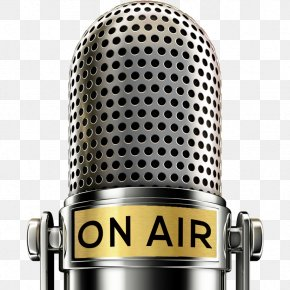 Radio On Air - Microphone Television Show Royalty-free Radio Chat Show PNG
