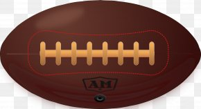 American Football Ball - American Football Football Pitch Illustration PNG