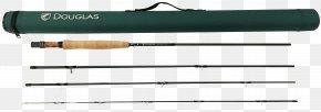 Fishing Pole - Gun Barrel Fishing Rods Douglas AutoCAD DXF PNG