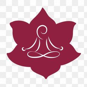 Hatha Yoga - Petal Pink M Leaf Flowering Plant Clip Art PNG
