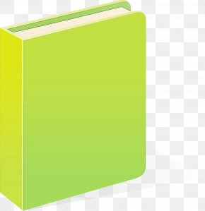 Material Property Rectangle - Green Yellow Folder Rectangle Material Property PNG