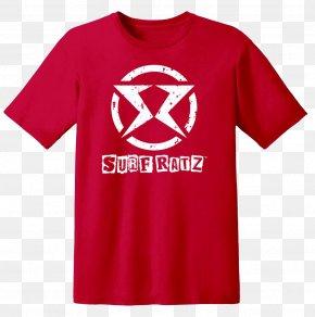 T-shirt Red - T-shirt Hoodie Jersey Spreadshirt PNG