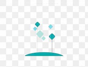 Diamond - Turquoise Angle Pattern PNG