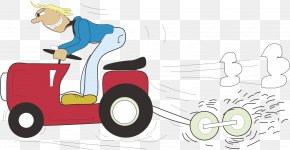 Tractor Driver - Car Tractor Clip Art PNG