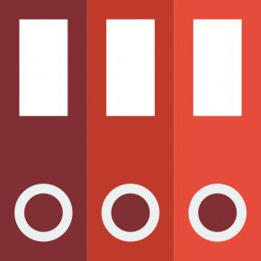 The Three Books - Document Management System Software Icon PNG