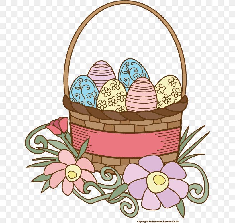 Easter Basket Clip Art, PNG, 647x779px, Easter Basket, Basket, Craft, Easter, Easter Egg Download Free