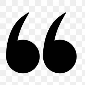 Quotation Transparent - Quotation Mark Symbol Icon PNG