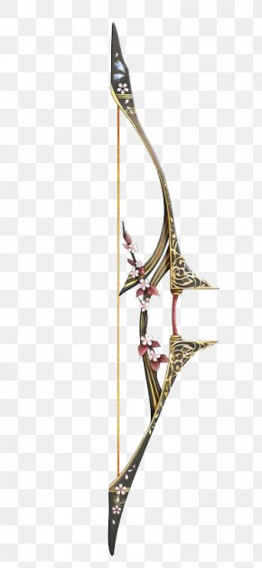 Peach Flowers Slingshot - Ranged Weapon Bow And Arrow Sword PNG