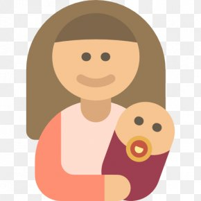 Hold The Child's Mother - Child Infant Family Mother Icon PNG