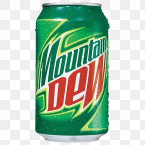 Mountain Dew Clipart - Soft Drink Beer Mountain Dew Beverage Can PNG