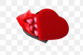 Heart-shaped Chocolate Box - Heart Box Chocolate Stock Photography PNG