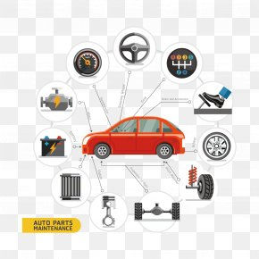 Vector Cars And Auto Parts - Car Royalty-free Euclidean Vector PNG