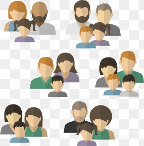 Family Members Of People - Family Avatar Child PNG